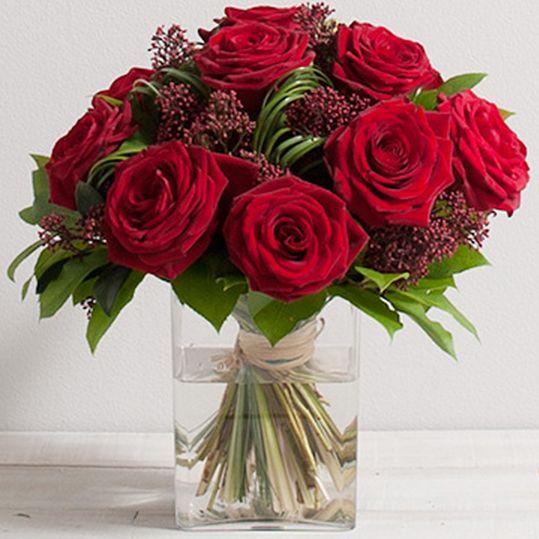 bouquet de roses capri 1ca interflora envoyer fleurs paris lyon marseille lille toulouse. Black Bedroom Furniture Sets. Home Design Ideas