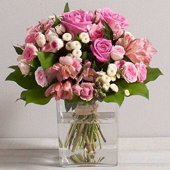 "Bouquet de fleurs ""Douceur"" 2DO Interflora - Wikifleurs"