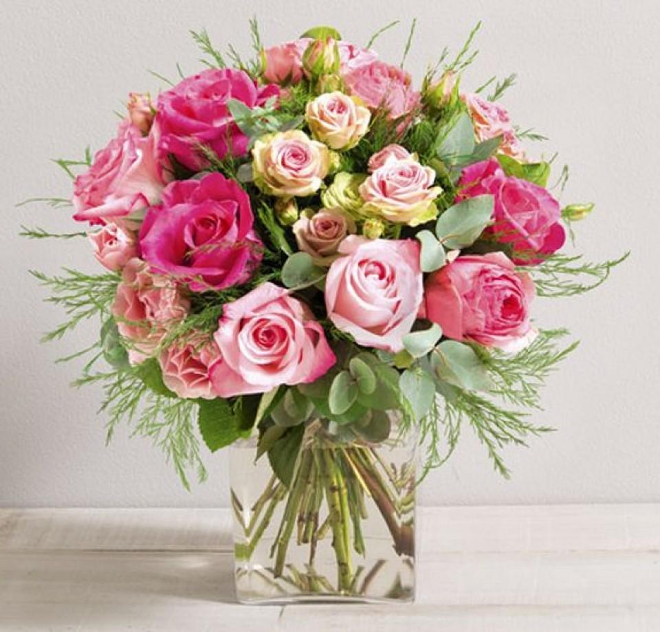 Bouquet de l'Amour Interflora fête de mères 2014