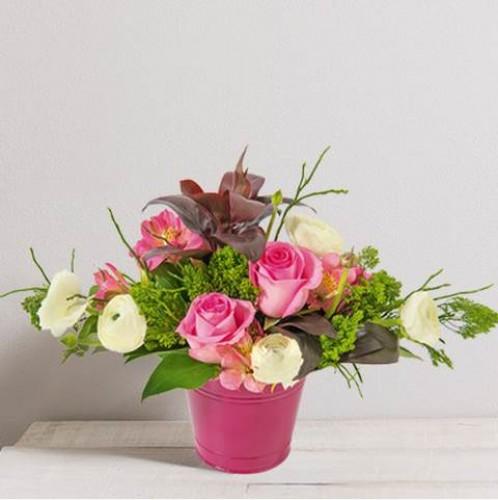 Composition de fleurs Berlingot
