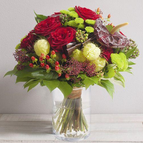Bouquet de fleurs CASSANDRE Interflora Wikifleurs